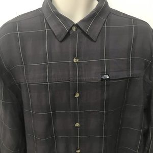 The North Face Button Up Casual Dress Shirt Large